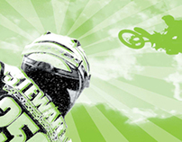 Kawasaki Motocross Poster