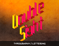DoubleSight Typography