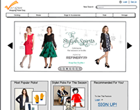 Veremee - fashion e-commerce website design