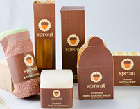 Sprout Baby Bath Packaging