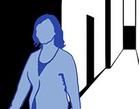 Walk Animation / Rotoscopy