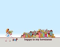 Happy in my Havaianas