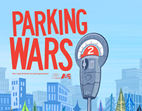 A&E's Parking Wars 2: Facebook Game