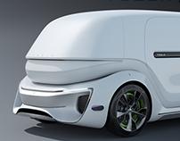 Tesla Pod - Commercial Module - Design Master's Thesis