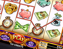 Slot Machine Glass Displays