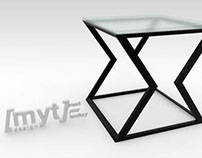 // MYT Design Ltd: Push table (side version)
