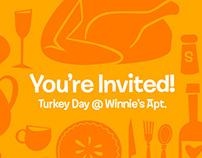 Thanksgiving Invitation / Graphics