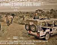 """Only Elephants Should Own Ivory"""