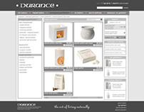Web site design for Durance