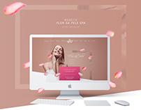 Website - Flor da Pele Spa