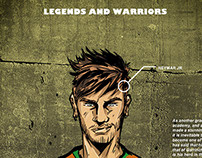 Legends and Warriors Series: Neymar Jr.