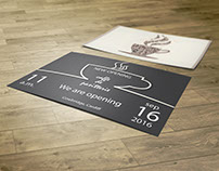 Invitation Cards - (Art Works) - Graphic Design, Mockup