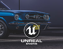 Mustang 1965 - Unreal Engine 4 RTX