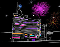 Hotel Missoni Kuwait Launch Animation