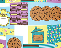 Sweetish House Mafia - Illustration & Packaging