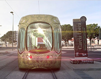 Animation 3D Inauguration Tramway de Montpellier