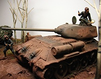 1/35 model tanks dale cox collections