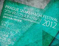 Prague Shakuhachi festival poster