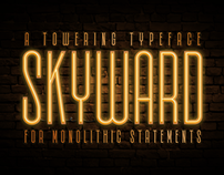 Skyward - A Towering Typeface