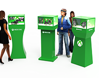 Retail Displays: Xbox One Holographic Displays