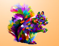 squirrel illustration
