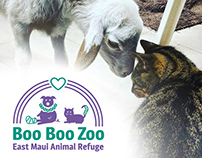 East Maui Animal Refuge Logo Design