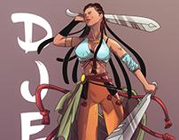 Djen - Character Design