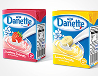 Danette Drinkable Packaging