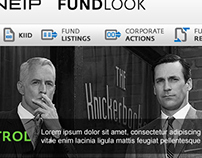 Kneip - Fundlook marketing pages