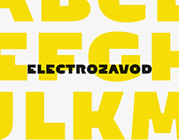 Electrozavod typeface