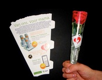 KPN Mothersday promotion leaflet/handout
