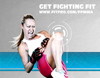 FP MMA Branding and promotional posters
