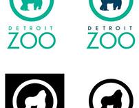 Detroit Zoo Re-branding (class assignment)