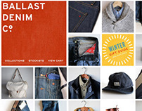 BALLAST DENIM – Website
