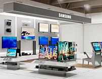 Samsung Store Concepto de Diseño - Chile, 2015
