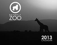 Detroit Zoo Artistic Calendar