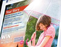 Atlas 'Your Story' Facebook app