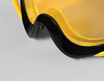 * CONTRAST * snowboard goggles