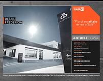 CASA A/S WEBSITE