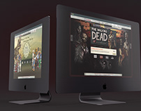 eCommerce Site ReDesign for Telltale Games