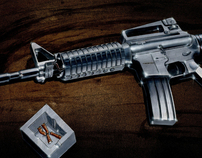 Marker rendering; M16A4