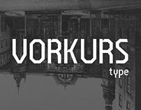 Vorkurs Typeface