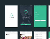ionSocial | Mobile app