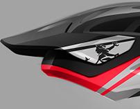 Enduro helmet, Photoshop rendering tutorial