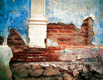 Brick and Blue - Original Photograph