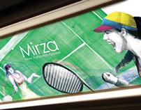 Mirza Tennis Fashion