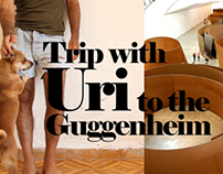 Trip with Uri to the guggenheim