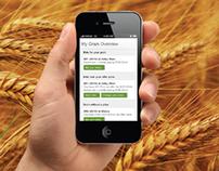 Clear Grain Mobile Web App
