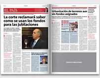 La Mañana — Newspaper (concept)