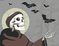 Saint Francis - Halloween Poster